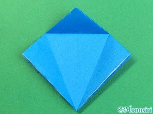 折り紙でサメの折り方手順13