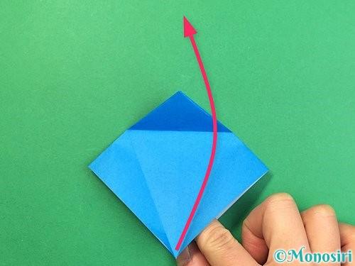 折り紙でサメの折り方手順14