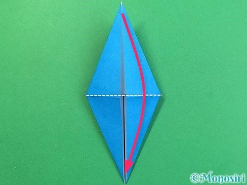 折り紙でサメの折り方手順18