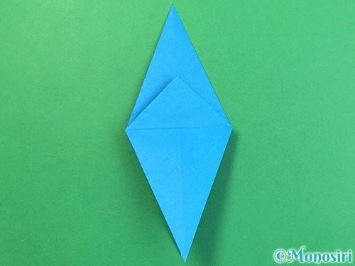 折り紙でサメの折り方手順19