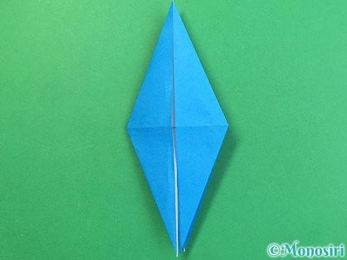 折り紙でサメの折り方手順22