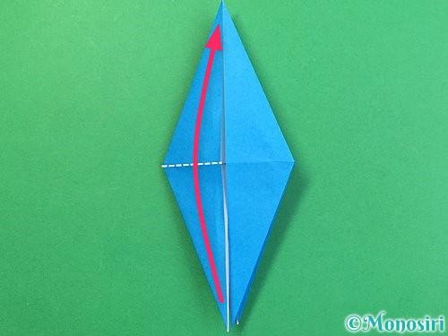 折り紙でサメの折り方手順23