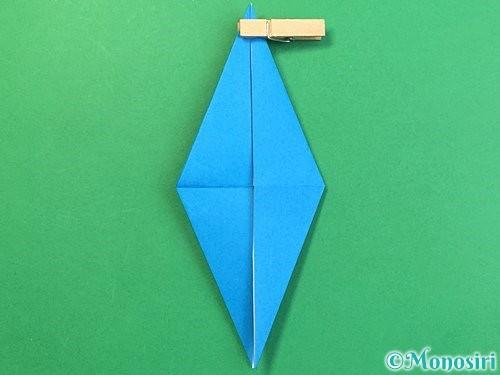 折り紙でサメの折り方手順24