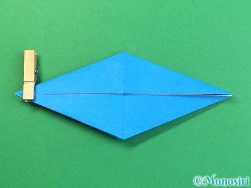 折り紙でサメの折り方手順26