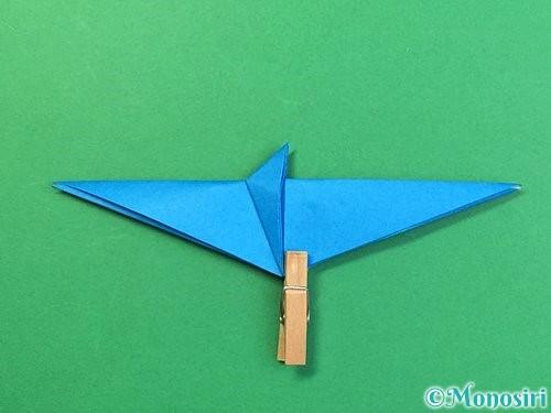 折り紙でサメの折り方手順30