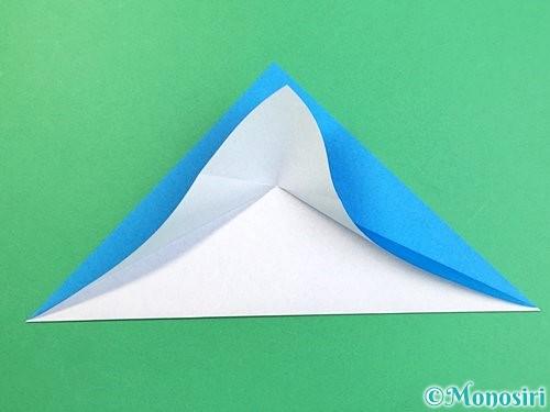 折り紙でイルカの折り方手順6
