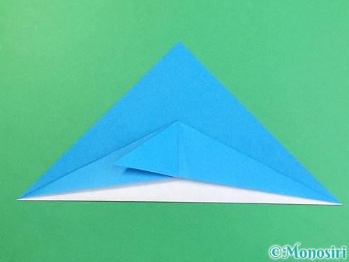 折り紙でイルカの折り方手順9