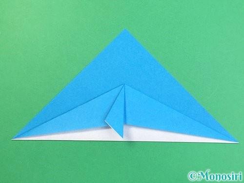折り紙でイルカの折り方手順11