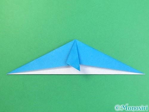折り紙でイルカの折り方手順12