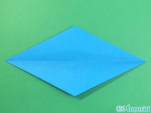 折り紙でイルカの折り方手順14