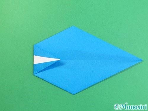 折り紙でイルカの折り方手順16