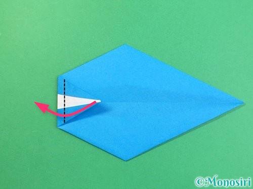 折り紙でイルカの折り方手順17