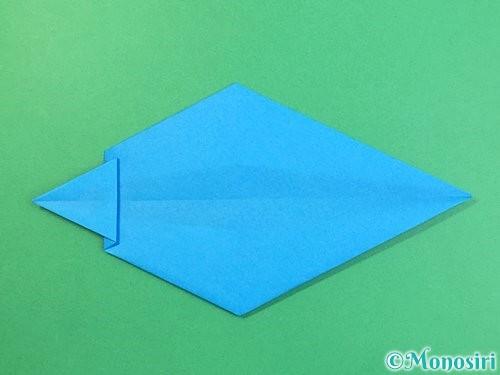 折り紙でイルカの折り方手順18