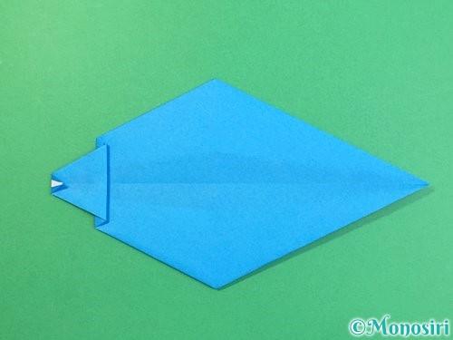 折り紙でイルカの折り方手順20