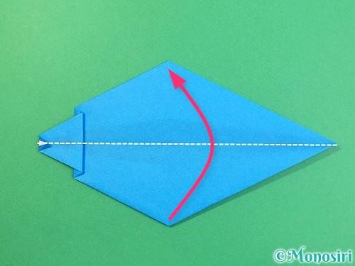 折り紙でイルカの折り方手順21