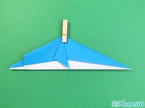 折り紙でイルカの折り方手順22