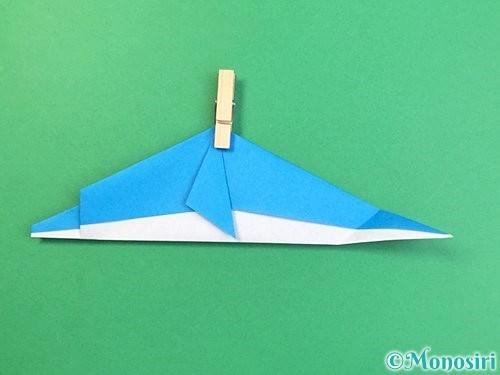折り紙でイルカの折り方手順24