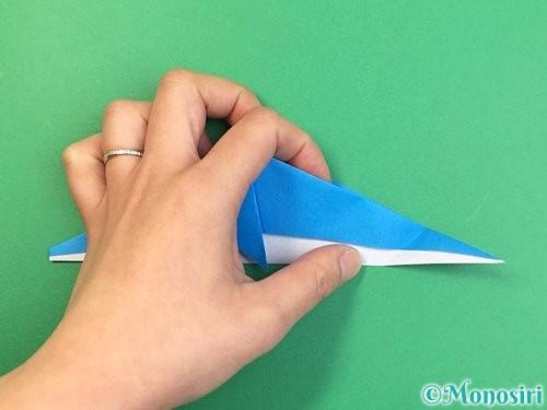 折り紙でイルカの折り方手順25