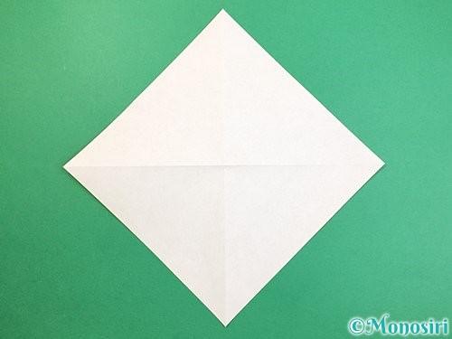 折り紙で熱帯魚の折り方手順3