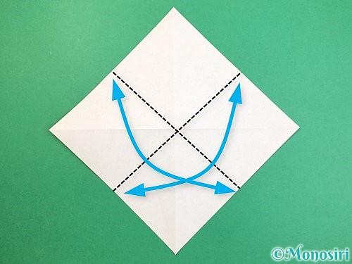 折り紙で熱帯魚の折り方手順4