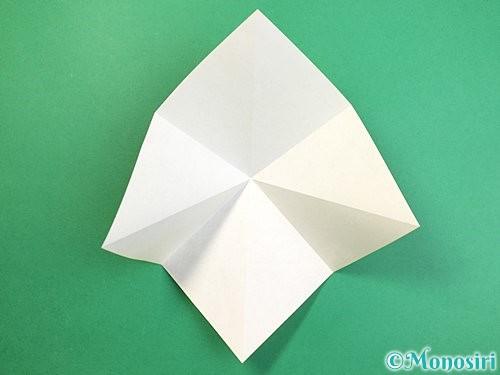 折り紙で熱帯魚の折り方手順6