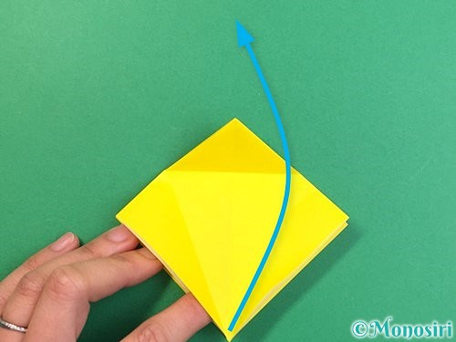 折り紙で熱帯魚の折り方手順13