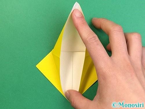 折り紙で熱帯魚の折り方手順14