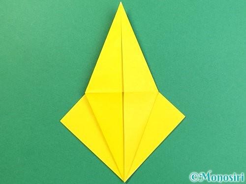 折り紙で熱帯魚の折り方手順15