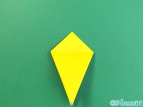 折り紙で熱帯魚の折り方手順19