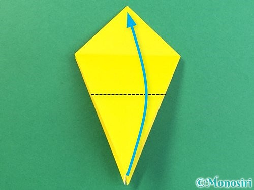 折り紙で熱帯魚の折り方手順20