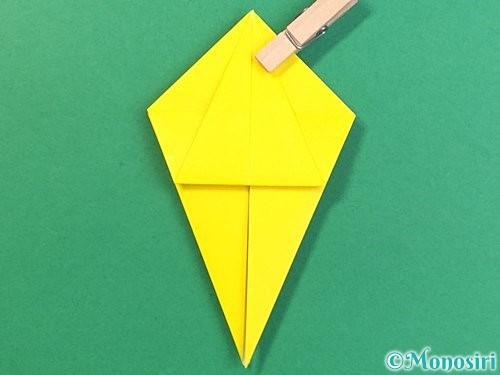 折り紙で熱帯魚の折り方手順21