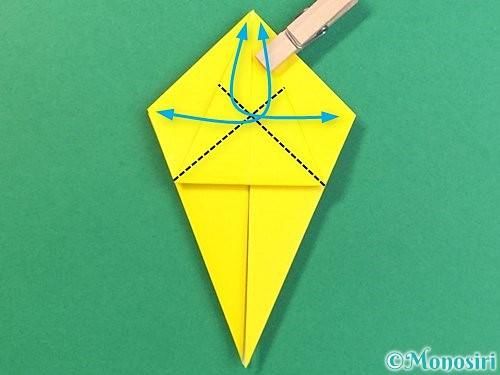 折り紙で熱帯魚の折り方手順22