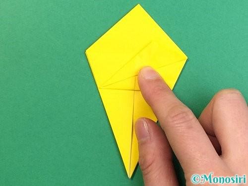 折り紙で熱帯魚の折り方手順24