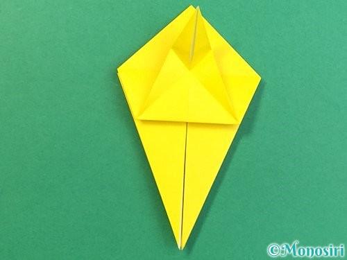 折り紙で熱帯魚の折り方手順25