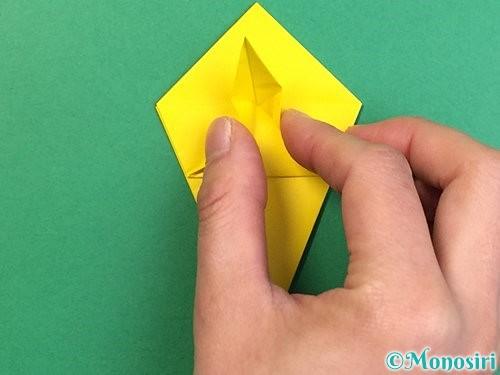 折り紙で熱帯魚の折り方手順27