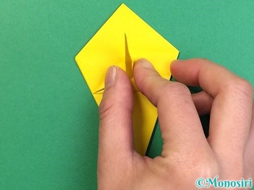 折り紙で熱帯魚の折り方手順28