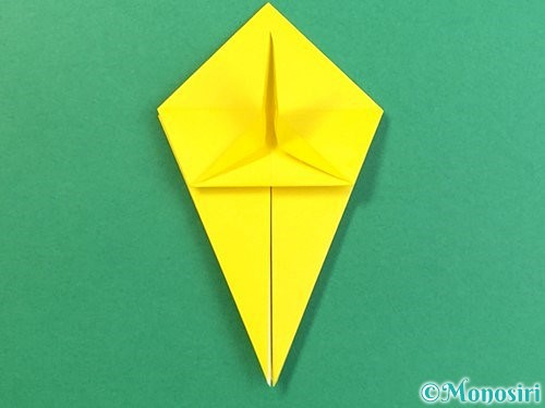 折り紙で熱帯魚の折り方手順29