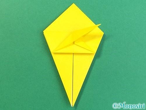 折り紙で熱帯魚の折り方手順31