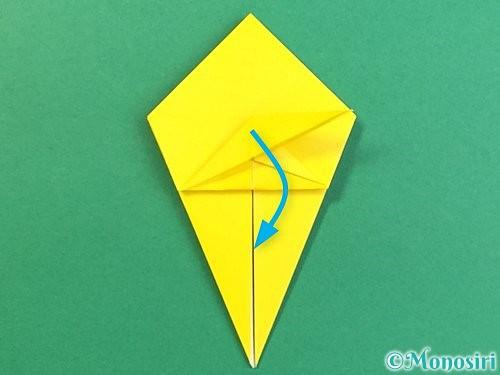 折り紙で熱帯魚の折り方手順32