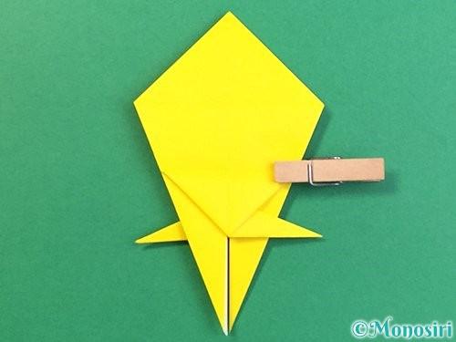 折り紙で熱帯魚の折り方手順34