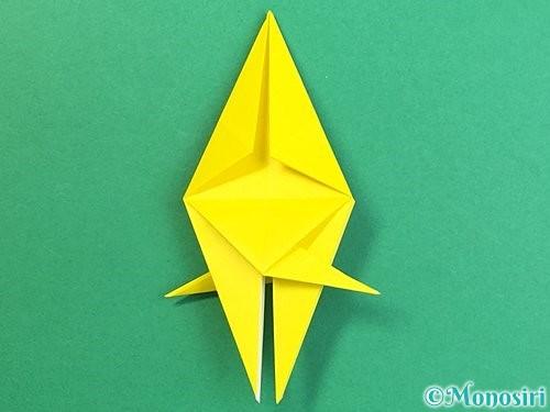 折り紙で熱帯魚の折り方手順37