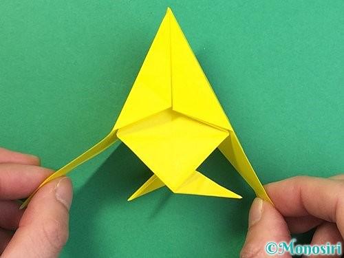 折り紙で熱帯魚の折り方手順40