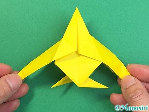 折り紙で熱帯魚の折り方手順42