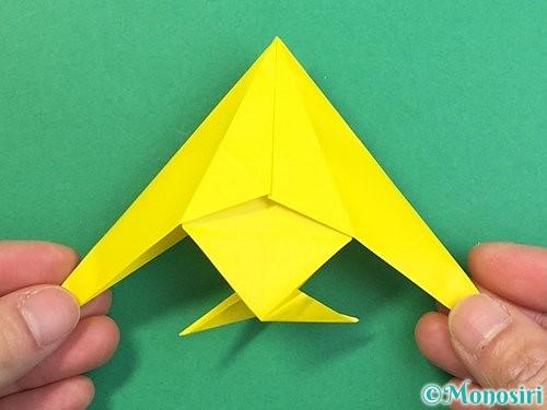折り紙で熱帯魚の折り方手順43