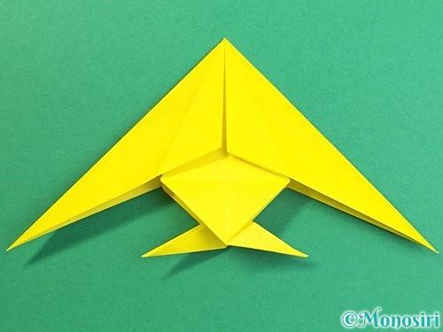 折り紙で熱帯魚の折り方手順44