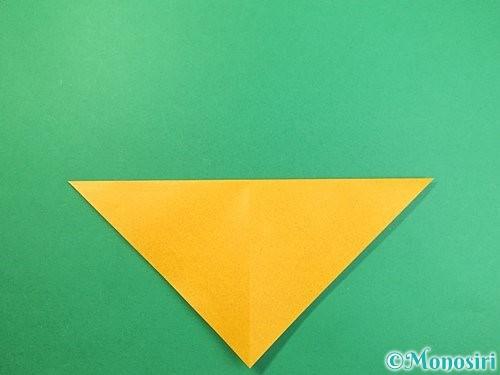 折り紙で鷲(鷹)の折り方手順4