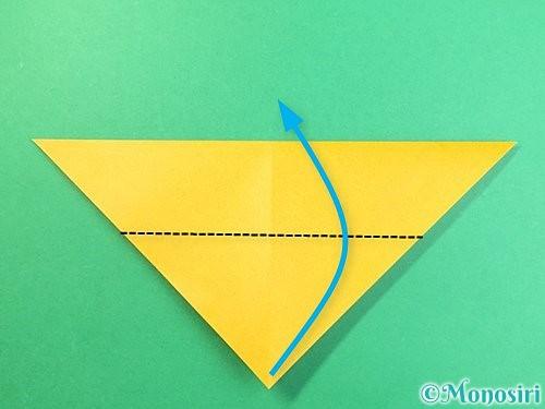 折り紙で鷲(鷹)の折り方手順5