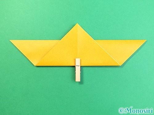 折り紙で鷲(鷹)の折り方手順6