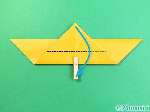 折り紙で鷲(鷹)の折り方手順7
