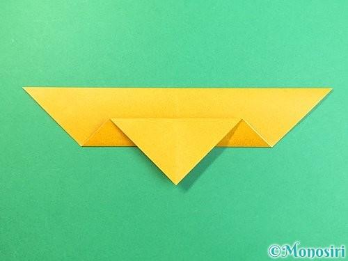 折り紙で鷲(鷹)の折り方手順8
